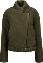MM6 MAISON MARGIELA Faux shearling jacket
