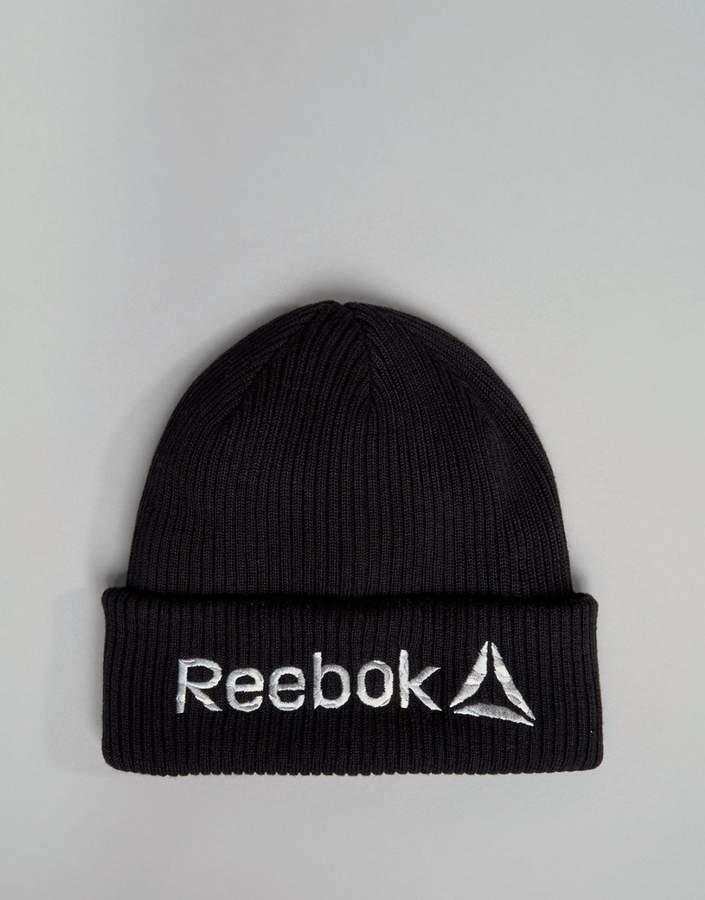 Reebok Training Beanie In Black BQ4862