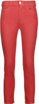 Etoile Isabel Marant Nahia mid-rise cropped straight-leg jeans