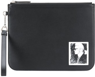 Karl Lagerfeld Paris Legend elegance clutch