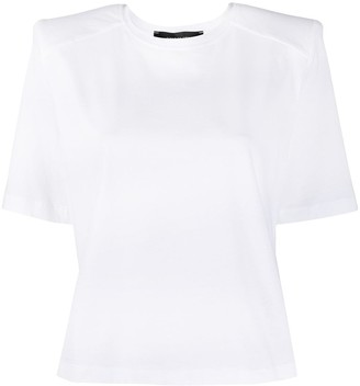 FEDERICA TOSI shoulder pad detail T-shirt