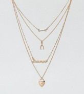 New Look Dreamer Layered Necklace