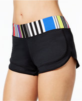 Jag Reactive Striped-Trim Swim Boyshorts