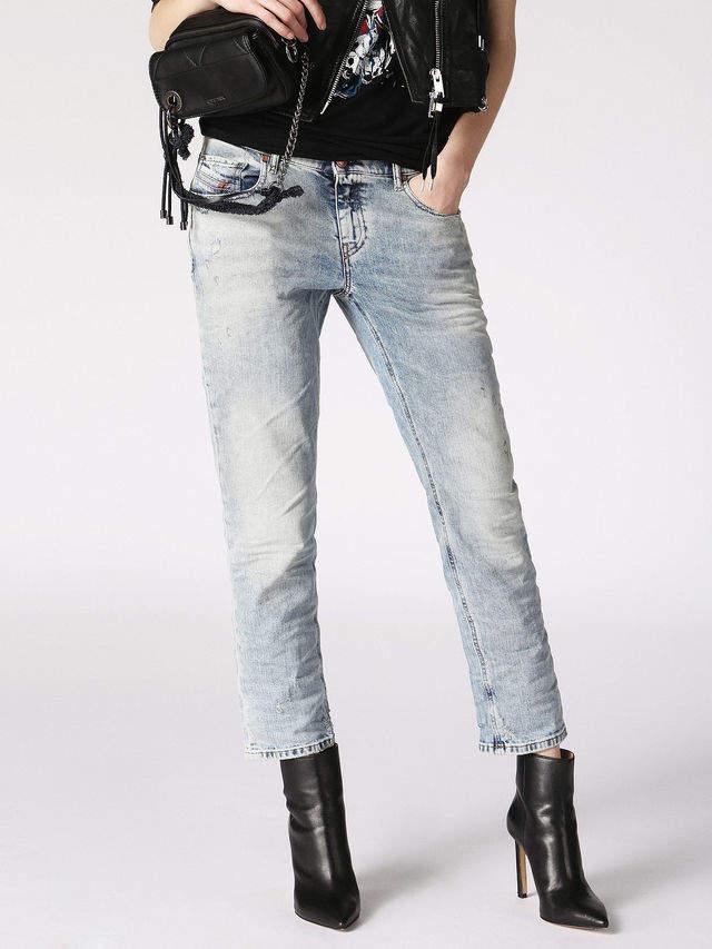 Diesel BELTHY-ANKLE-D Jeans 084RF - Blue - 24