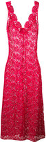 Ermanno Scervino embroidered maxi dress - women - Polyester - 40