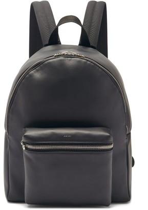 Amiri Leather Backpack - Black