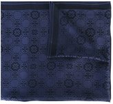 Tory Burch jacquard scarf - women - Silk/Wool - One Size