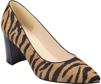 Marc Fisher Women's Pumps BRMPO - Brown Leopard Claire Haircalf Pump - Women