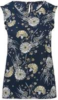 M&Co Petite sleeveless floral print top