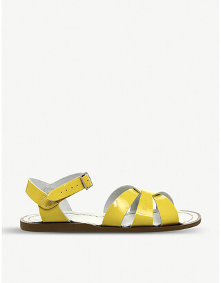 Office Salt Water patent leather sandals