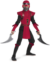 Disguise Red Ninja Viper Deluxe Dress-Up Set - Kids