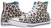 Converse Chuck Taylor All Star Leopard Print - Hi (Driftwood/Black/Light Fawn) Athletic Shoes