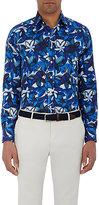 Etro Men's Floral Shirt-NAVY