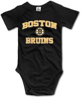 Wavriee Bruins 2016 Winter Classic Ice Hockey Team Baby Girls Romper Bodysuit