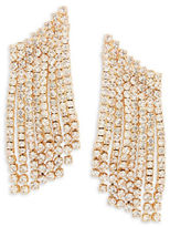 RJ Graziano Pave Climber Earrings