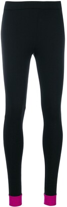 NO KA 'OI Contrast Detail Leggings