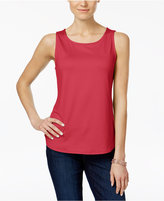 Charter Club Sleeveless Tank Top, Only at Macy's