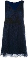 P.A.R.O.S.H. Rift dress - women - Cotton/Polyamide/Polyester/Viscose - XS