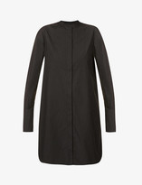 Thumbnail for your product : The Kooples Graphic-print cotton-poplin mini dress