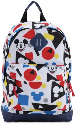 Fabric Flavours Mickey Mouse Print Nylon Backpack