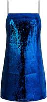 Laneus embellished sequin dress