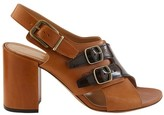 Dries Van Noten Heeled sandals with leather details