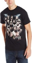 WWE Men's Group Shot Logo Tee