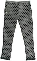Kontatto Dots Herringbone Pants