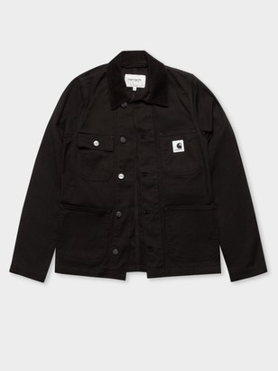 Carhartt Michigan Jacket in Black Rinsed