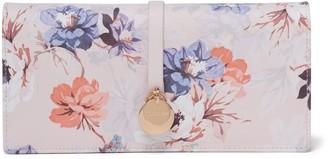 Forever New Josie Disc Foldover Wallet - Vintage Floral Print - 00
