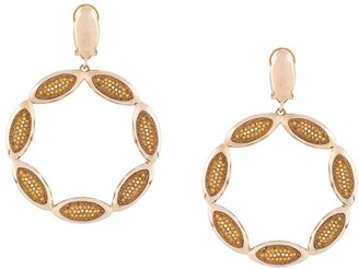 Swarovski Evil Eye Statement Hoop earrings