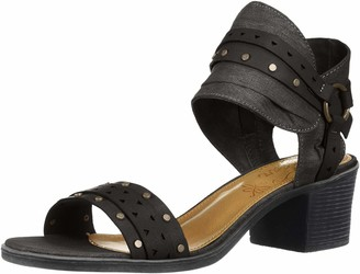 Sugar Women's Hey Now Casual Chop Out Block Heel Sandal