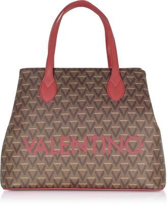 Mario Valentino Valentino By Liuto Signature Eco Leather Tote Bag