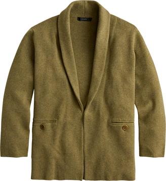 J.Crew Camille Shawl Collar Sweater Blazer