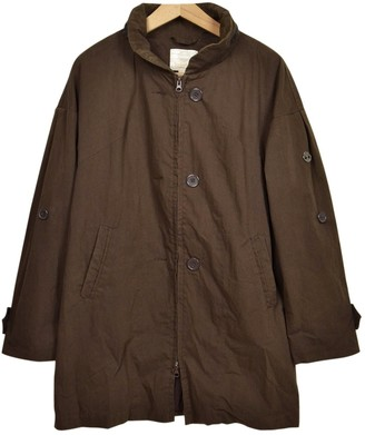 Timberland Brown Cotton Jacket for Women