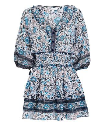 Poupette St Barth Ariel Floral Mini Dress