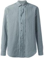 Maison Margiela slim fit gingham check shirt - men - Cotton - 40