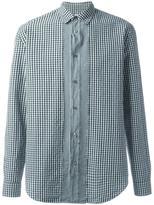 Maison Margiela slim fit gingham check shirt