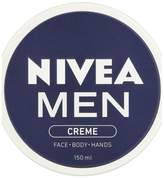 NIVEA MEN Crème, All Purpose Cream for Face, Body & Hands, 150ml