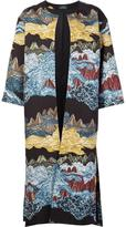 Alena Akhmadullina 'Mountainscape' coat