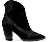 Eight Calf hair ankle boots
