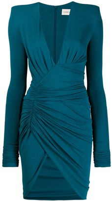 Alexandre Vauthier long-sleeve fitted dress