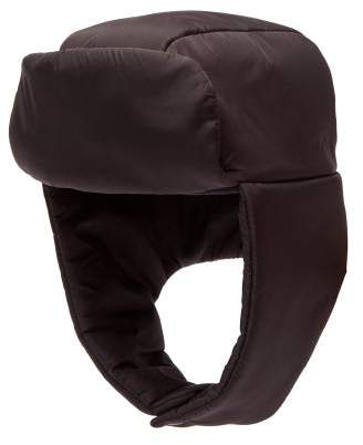 Prada Padded Trapper Hat - Mens - Black