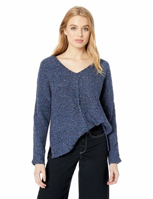 Lucky Brand Women's Color V Neck Sweater