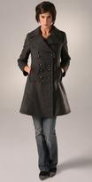 Marc by Marc Jacobs Solid Wool Felt Coat