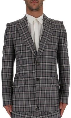 Gucci Checkered Blazer