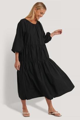 NA-KD Oversized Cotton Dress
