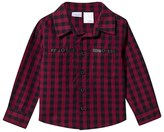 Kardashian Kids Red Check Shirt