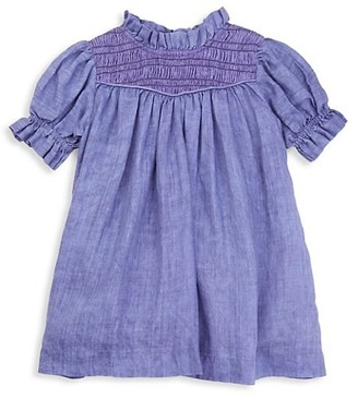 Sea Little Girl's & Girl's Tara Puff-Sleeve Shift Dress