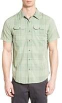 Prana Men's 'Marvin' Plaid Organic Cotton Sport Shirt
